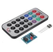 HX1838 NEC Arduino Infrarood afstandsbediening.