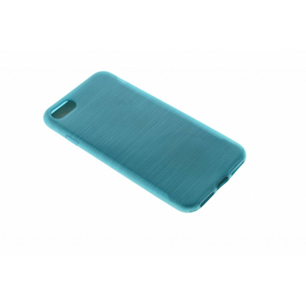 Forcell iPhone 7 Forcell Jelly Case Brush turquoise
