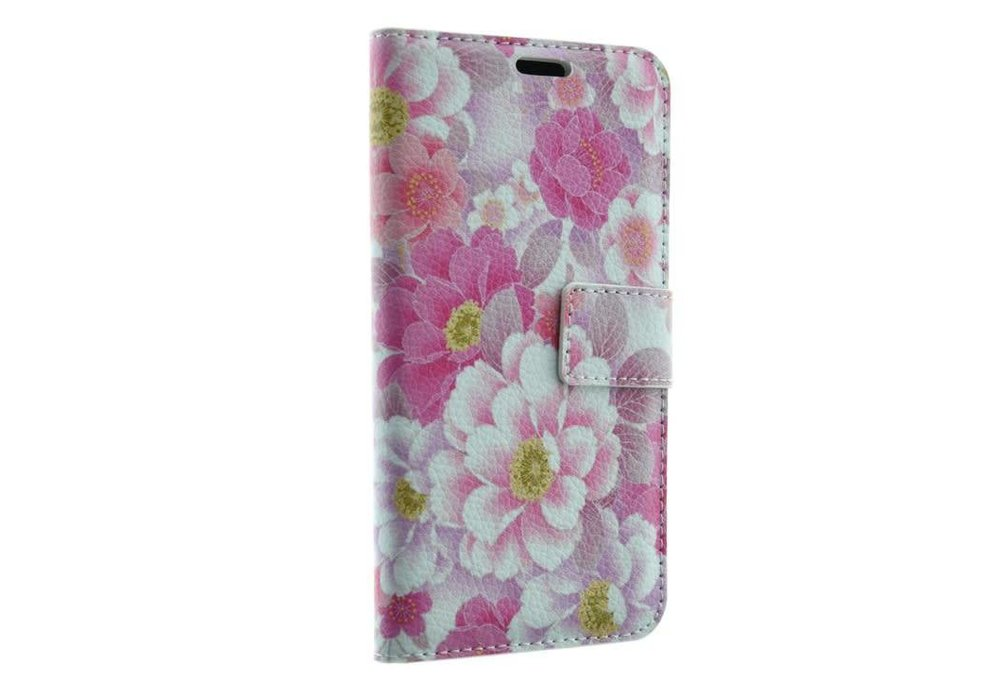 Mobicase Samsung Galaxy S7 Book Case Flowers Print