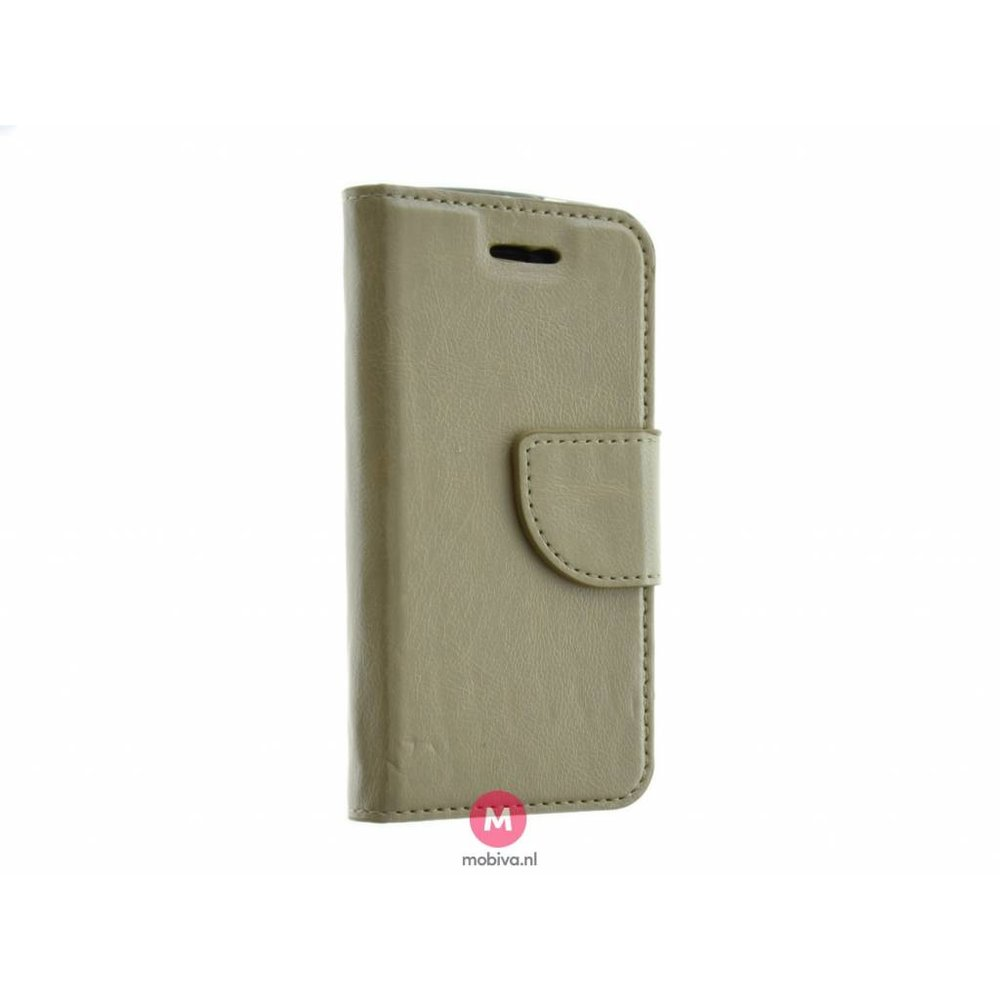 Mobiva iPhone 5/5S/SE Mobiva Book Case Goud