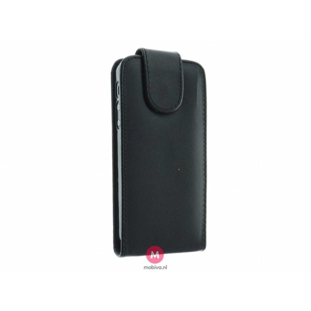 Mobicase iPhone 5/5S/SE Costa Flip Case Zwart