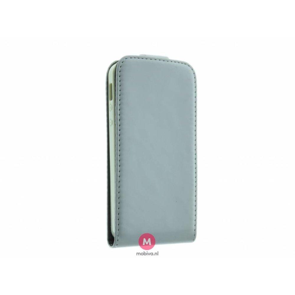 Mobicase iPhone 5/5S/SE Costa Flip Case Wit