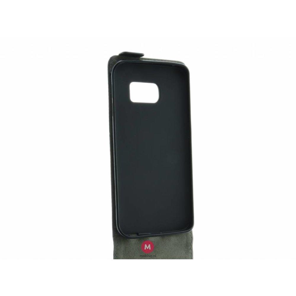 Mobicase Samsung Galaxy S6 Edge Flip Case Zwart