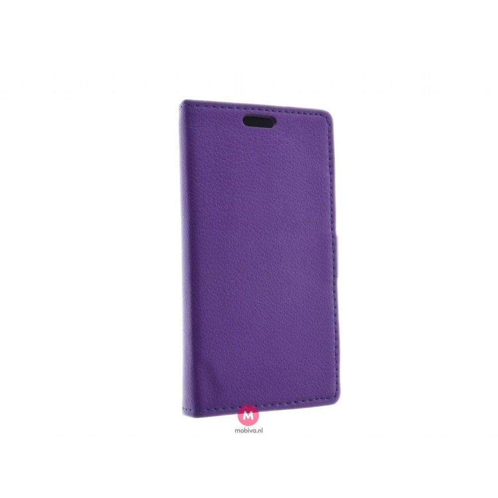 Mobicase Samsung Galaxy S6 Edge Book Case Costa Paars