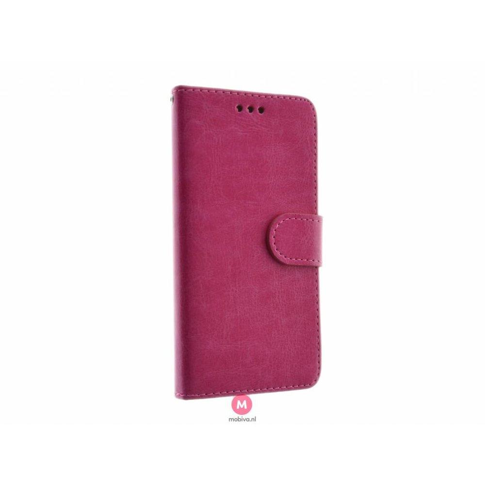 Mobicase Samsung Galaxy S6 Edge Book Case Roze