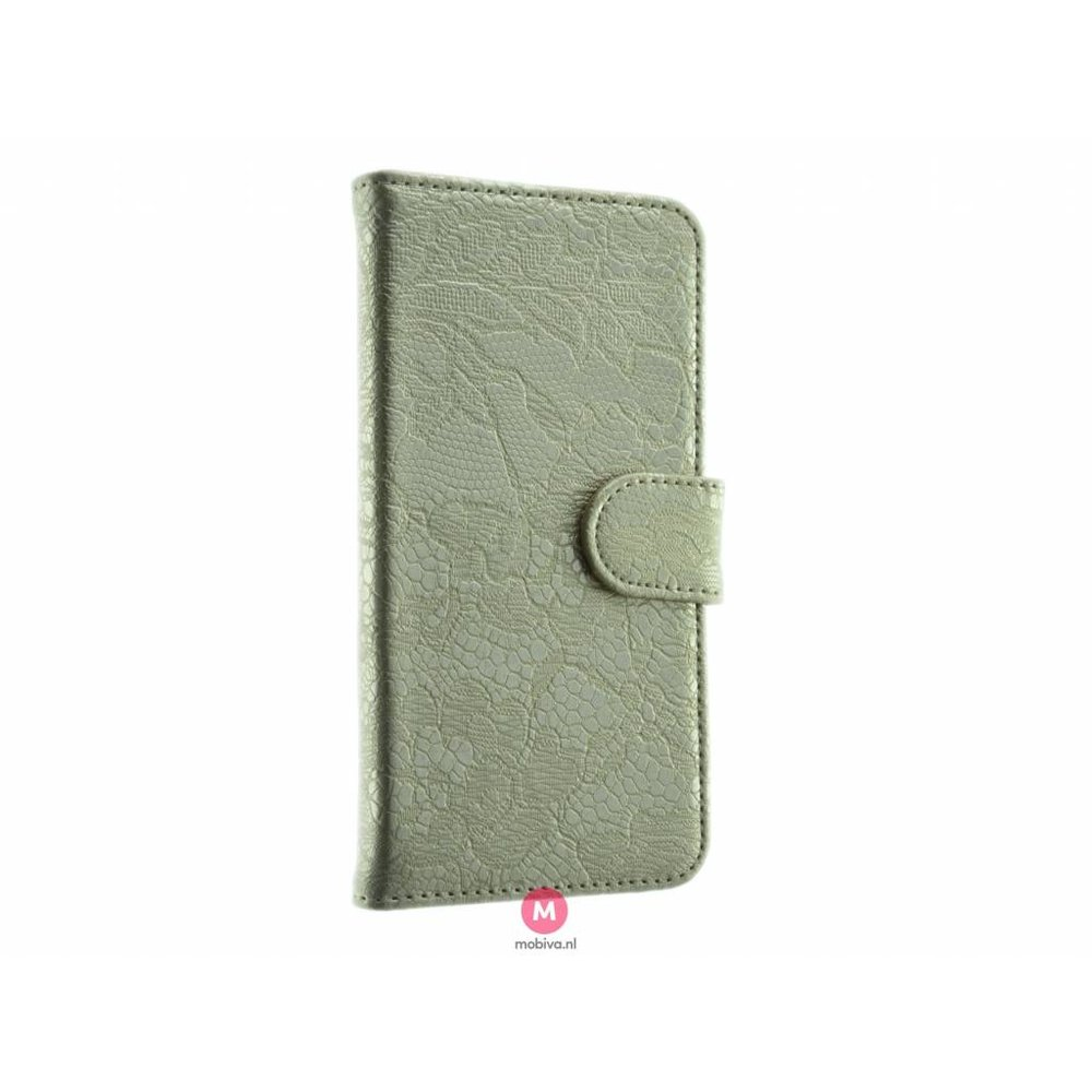 Mobicase iPhone 7/8 Book Case Lace Goud