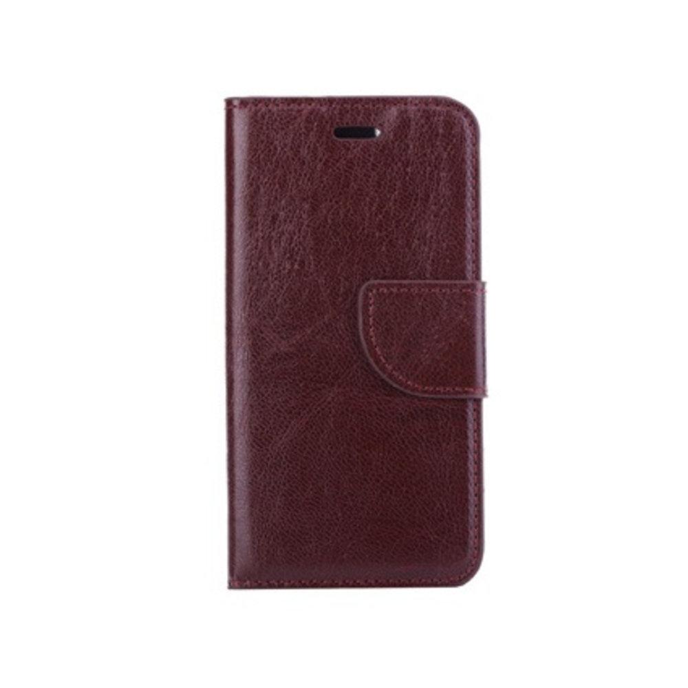 Mobicase Huawei P8 Book Case Flex Bruin