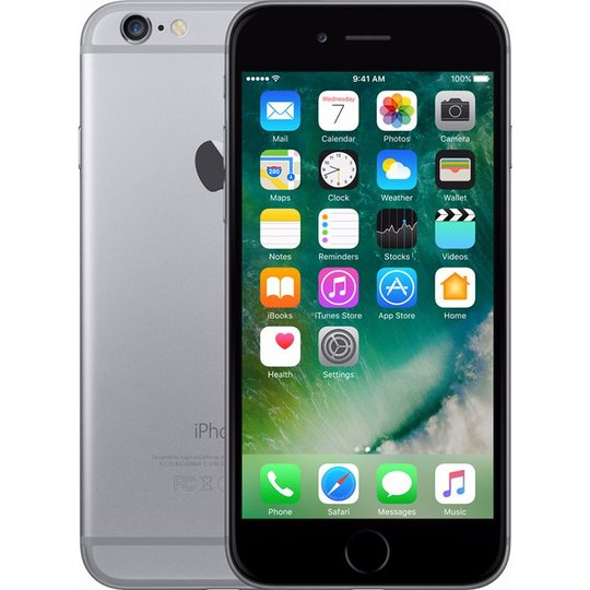 Apple Apple iPhone 6s 64GB Zwart Refurbished