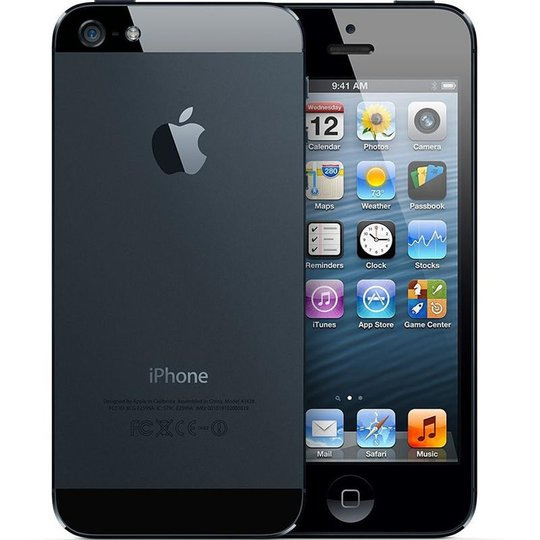 Apple Apple iPhone 5 32GB Zwart Refurbished