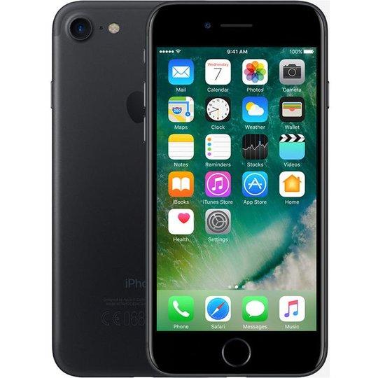 Apple Apple iPhone 7 128GB Zwart Refurbished