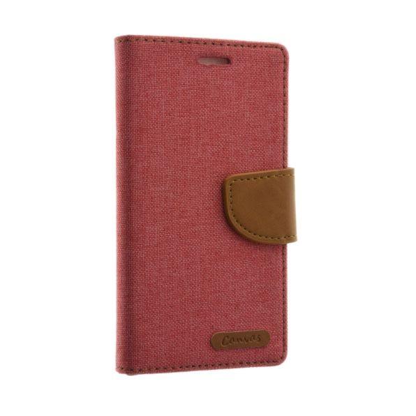 Mobicase Samsung Galaxy A5 2016 Kabura Canvas Book Roze
