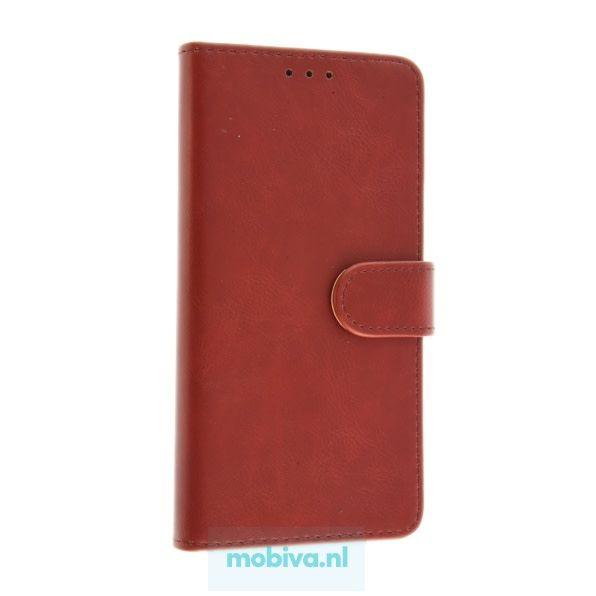 Polar Bear Samsung Galaxy A8 (2018) Polar Bear Book Case Rood
