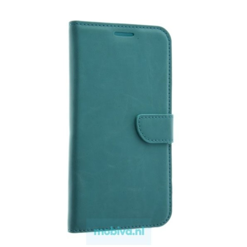 Mobicase Samsung Galaxy A8 (2018) Book Case Turquoise