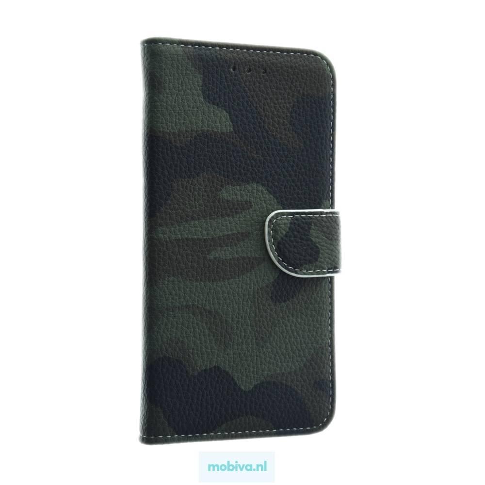 Mobicase Samsung Galaxy A6 Plus Book Case Camo