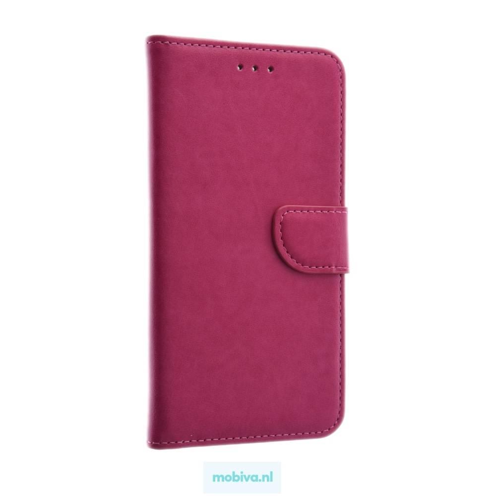 Mobicase Samsung Galaxy A6 Plus Book Case Roze