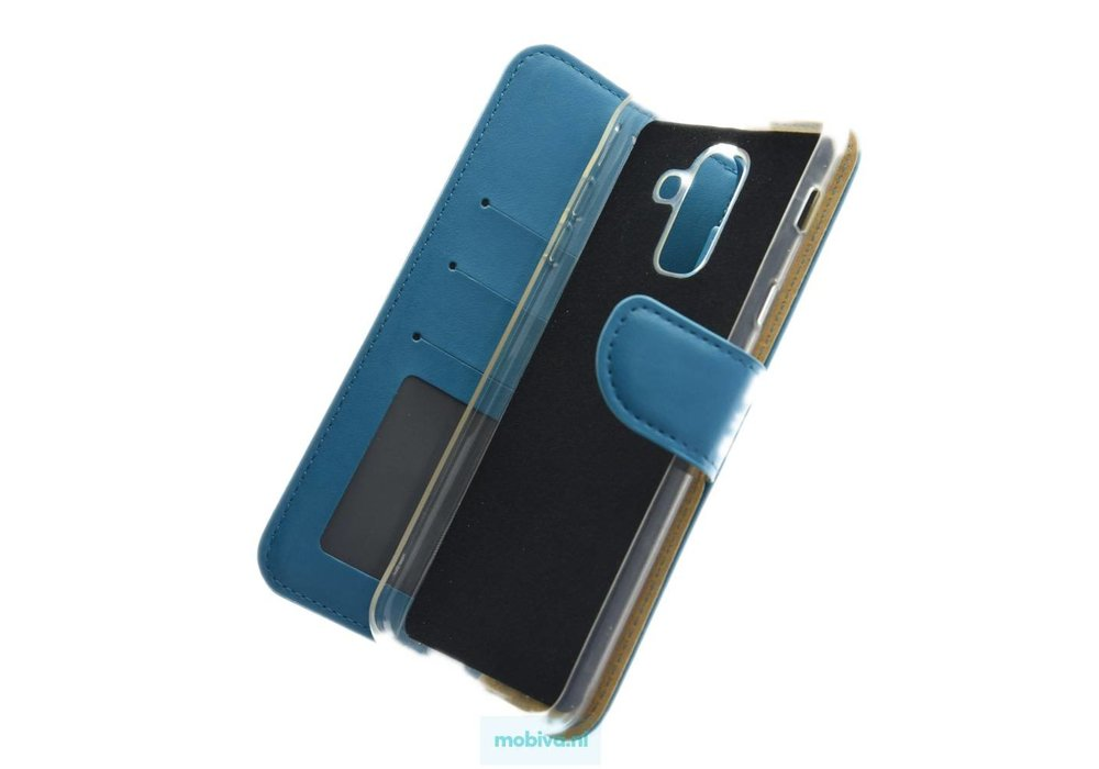 Mobicase Samsung Galaxy A6 Plus Book Case Turquoise