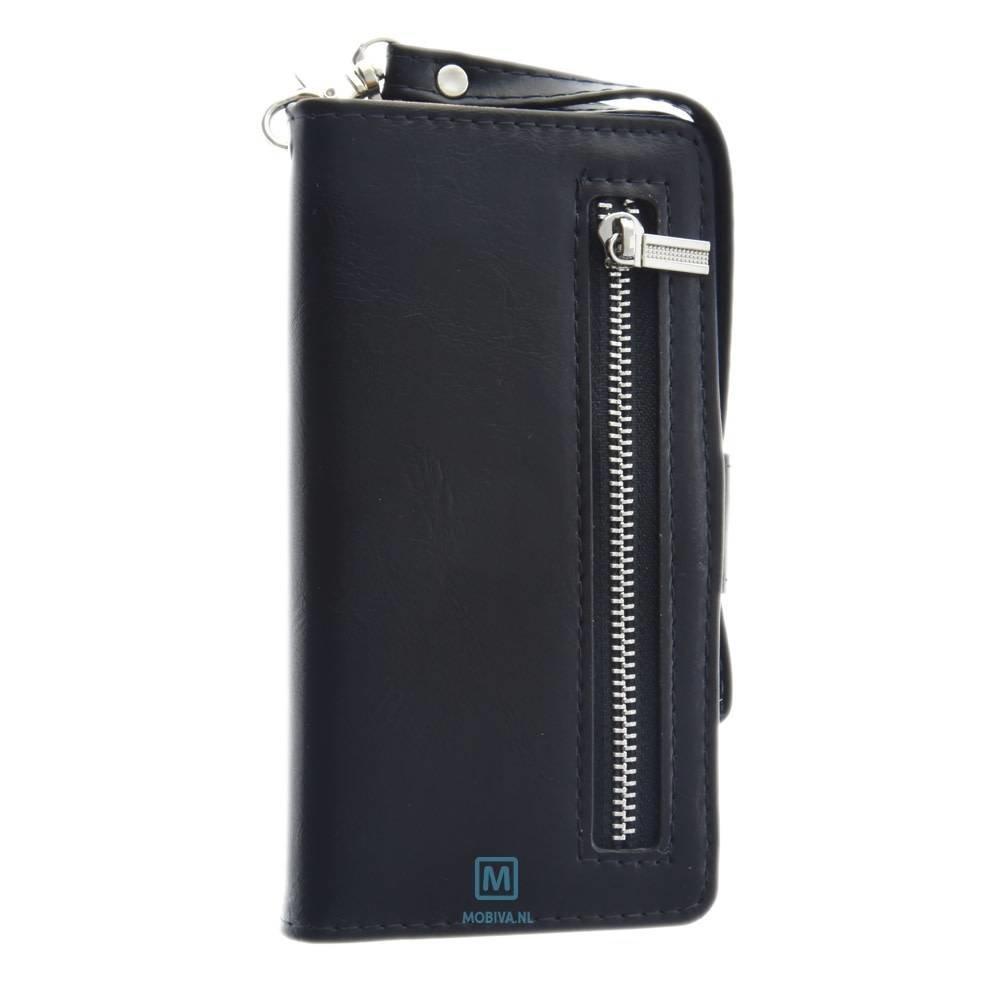 Mobiparts Huawei P8 Lite Smart Wallet Case Zwart