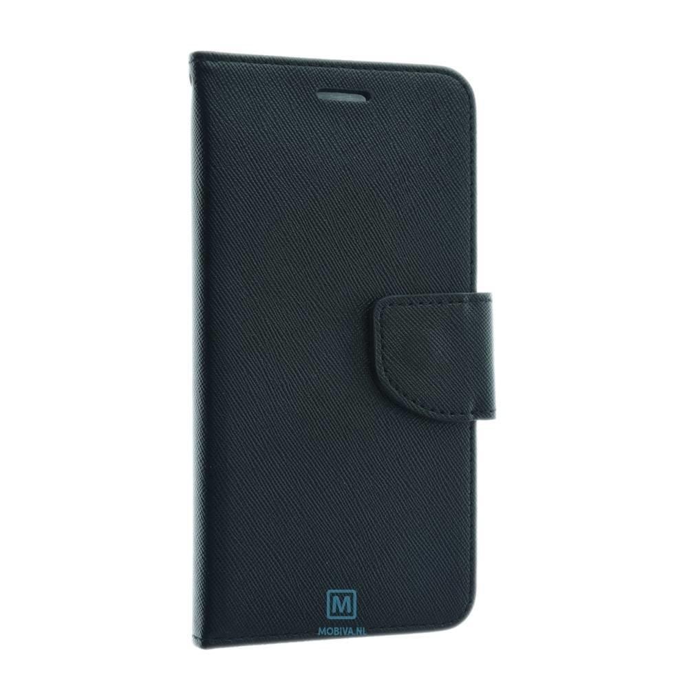 Mobicase Huawei P10 Kabura Fancy Book Zwart
