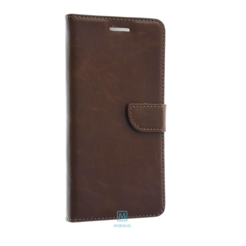 Mobicase Huawei P10 Book Case Flexibel Bruin