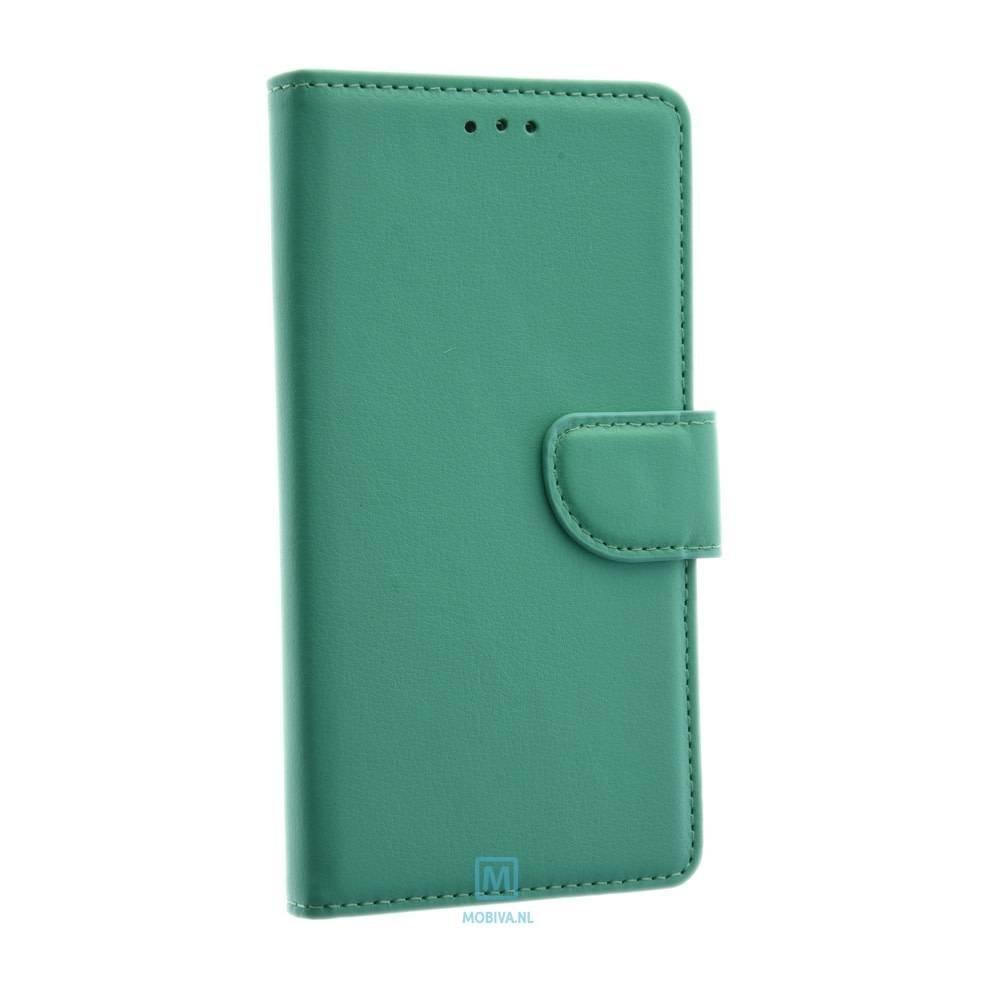 Mobicase Huawei P9 Lite Book Case Mint Groen
