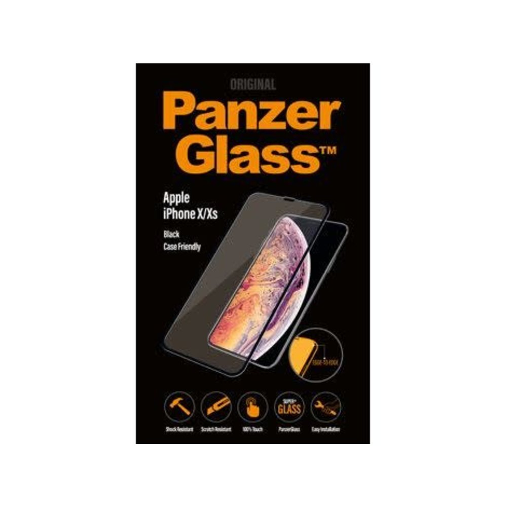 PanzerGlass Apple iPhone X/Xs Case Friendly Black