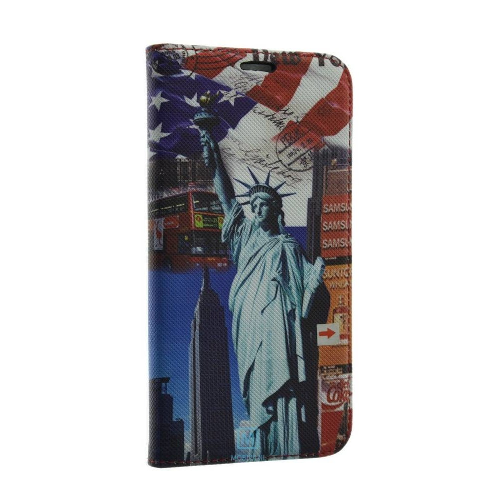 Polar Bear Samsung Galaxy S6 PB Book Case Statue of Liberty Print