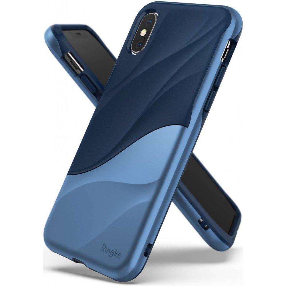 Ringke Apple iPhone X/XS Ringke Wave Coastal Blue Hoesje