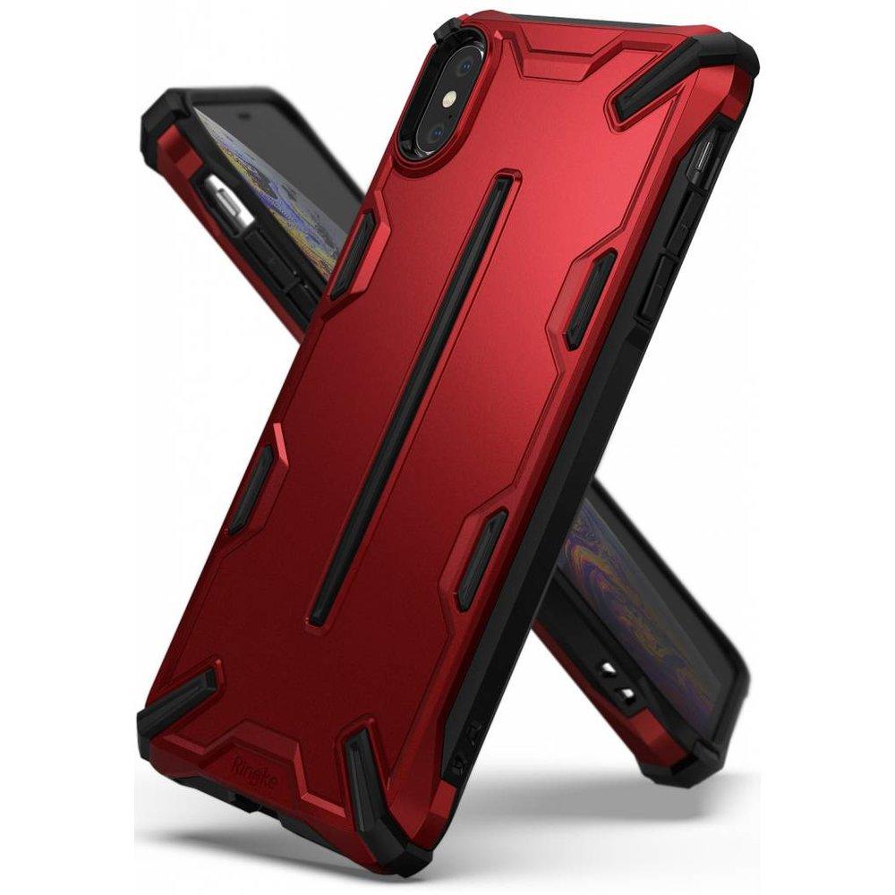 Ringke Apple iPhone X/XS Ringke Dual X Iron Red Hoesje