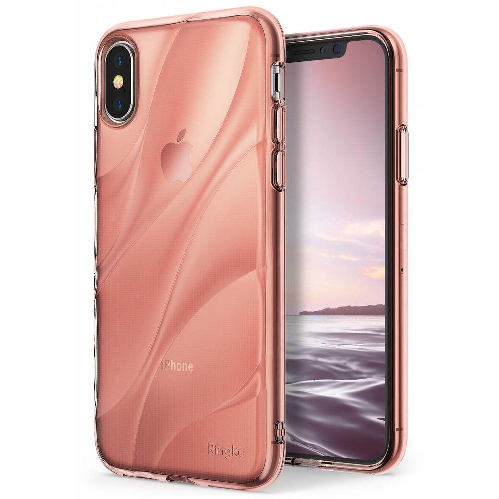 Ringke Apple iPhone X Ringke Flow Rose Gold Hoesje