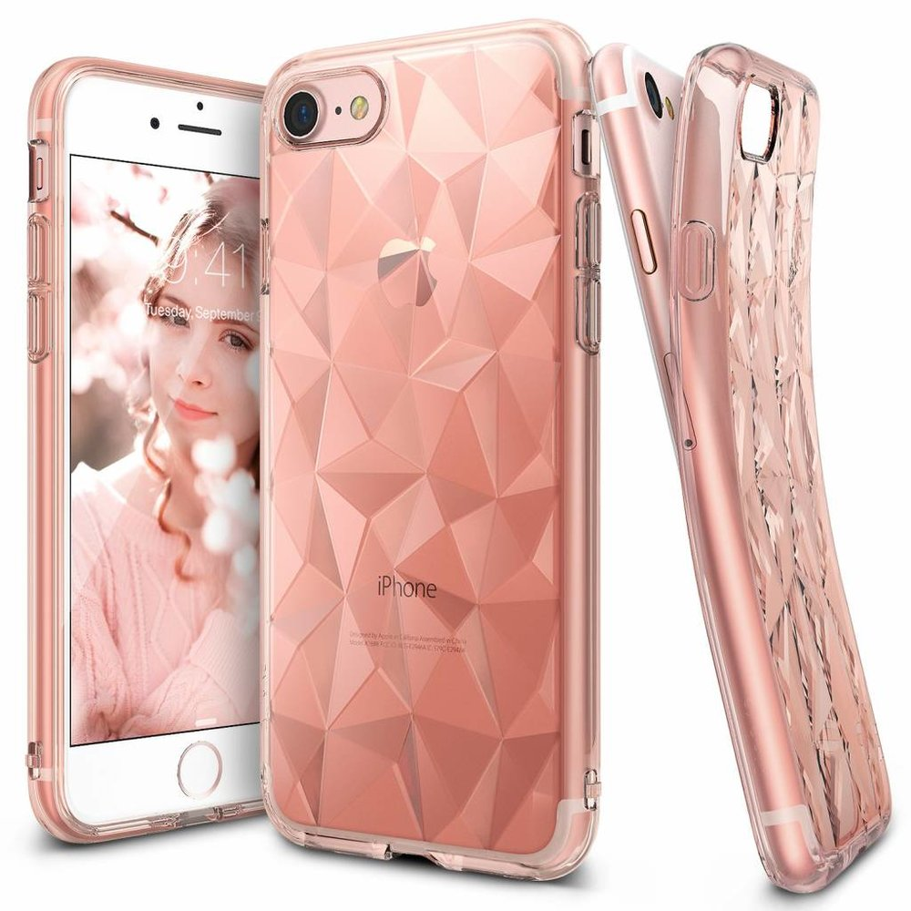Ringke Apple iPhone 7/8 Ringke Air Prism Rose Gold Hoesje