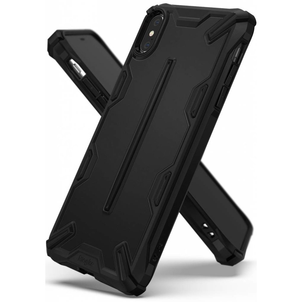 Ringke Apple iPhone XR Ringke Dual X SF Black Hoesje