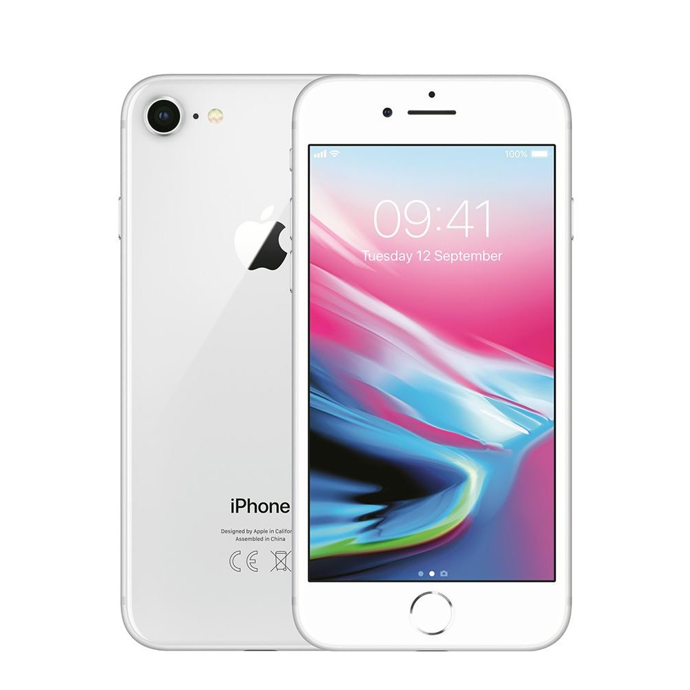 Apple Apple iPhone 8 64GB Zilver Refurbished