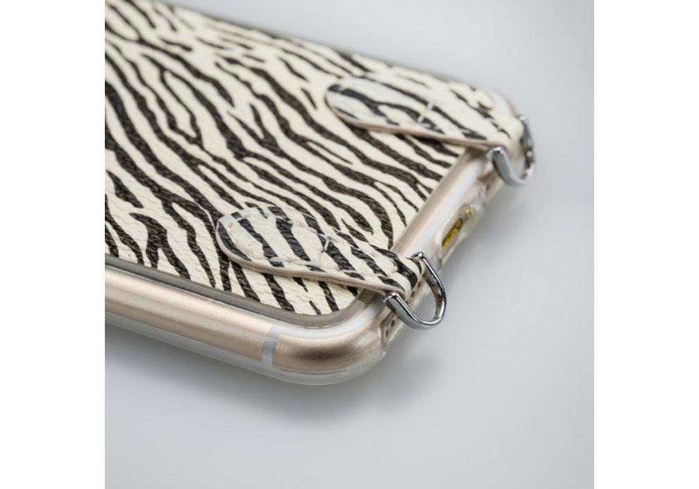 Mobilize Mobilize 2in1 Gelly Wallet Zipper Case Samsung Galaxy S8 Black/Zebra