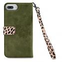 Mobilize Mobilize 2in1 Gelly Wallet Zipper Case Apple iPhone 6/6S/7/8 Plus Olive/Leopard