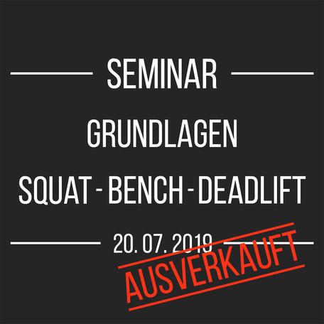 Seminar (20.07.2019)