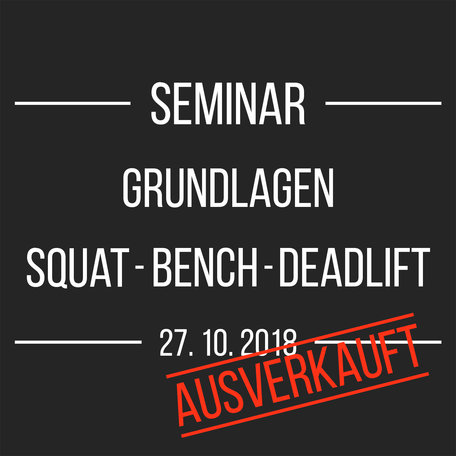Seminar (27.10.2018)