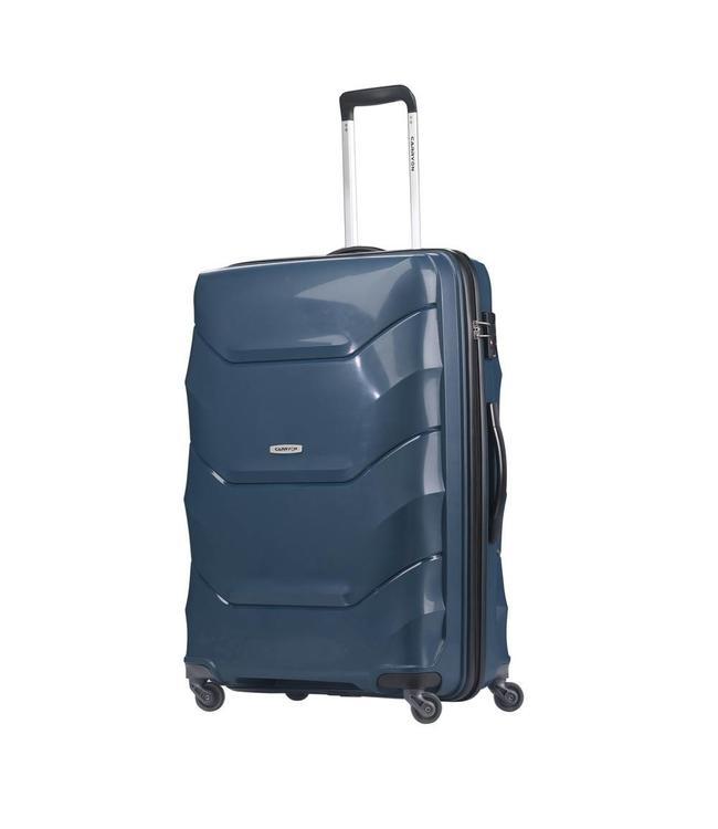 CarryOn Porter 2.0 trolley 66 cm Petrol Blue-middelgrote reiskoffer op wielen