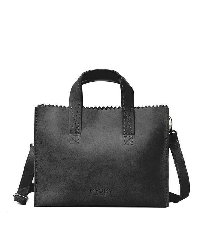 MYOMY My Paperbag Handbag cross-body hunter off black
