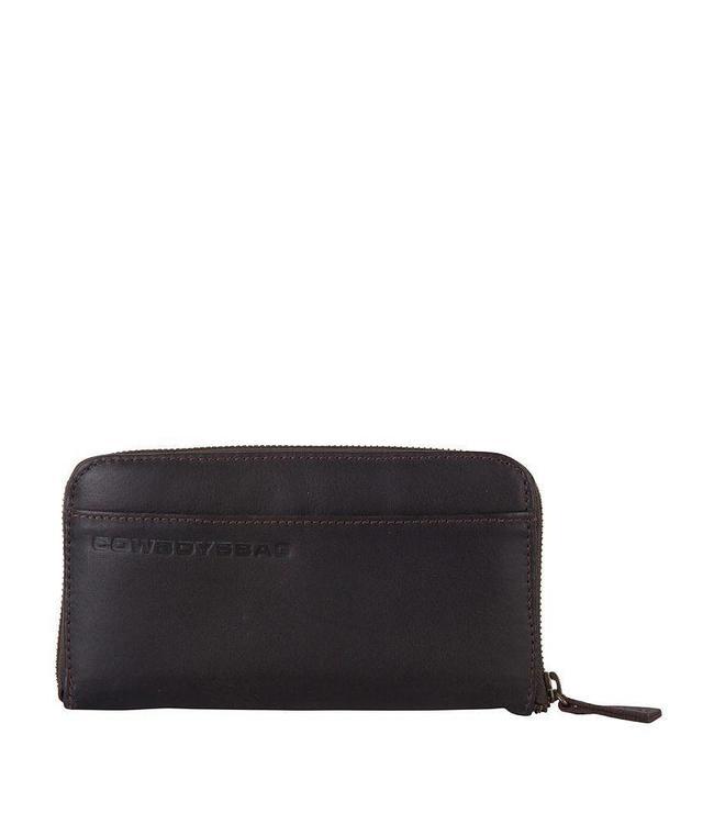Cowboysbag The Purse brown-ruime damesportemonnee