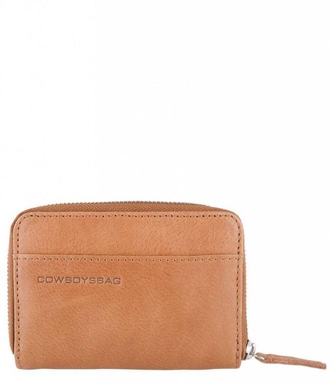 Cowboysbag Purse Haxby tobacco-compacte damesportmonnee