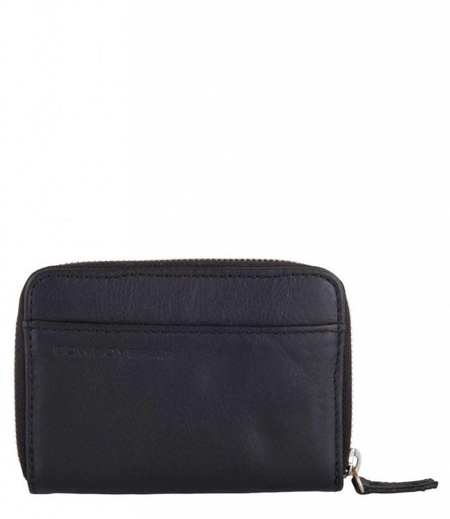 Cowboysbag Purse Haxby Black-compacte damesportmonnee