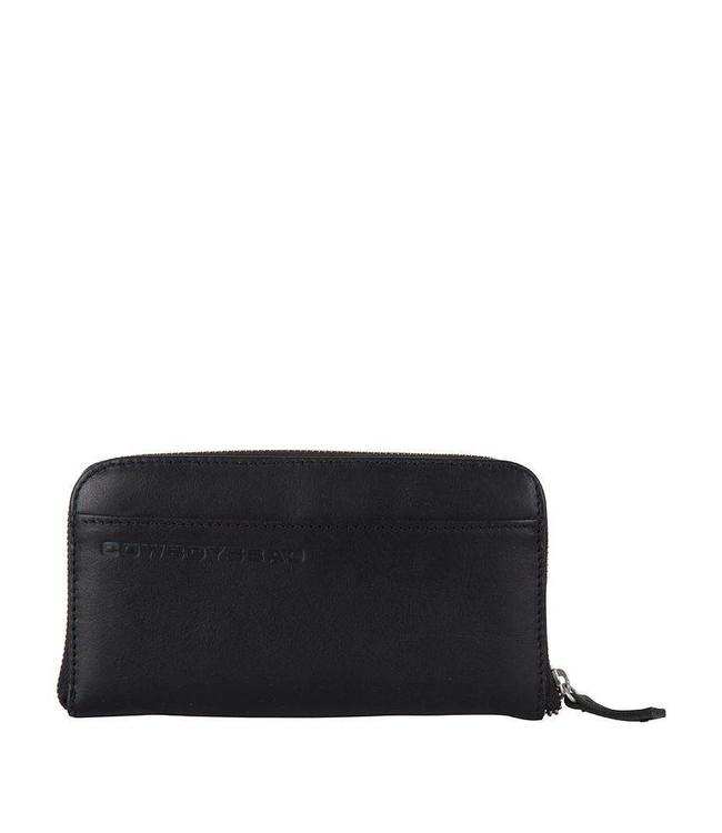 Cowboysbag The Purse Black-ruime damesportemonnee