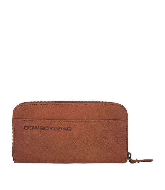 Cowboysbag The Purse Cognac-ruime damesportemonnee