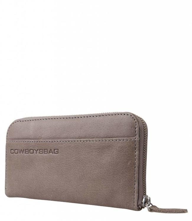 Cowboysbag The Purse Elephant grey-ruime damesportemonnee