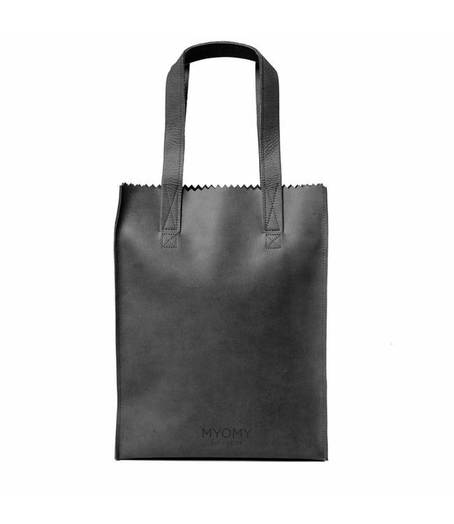 MYOMY My Paperbag Long Handle Zip hunter Off Black