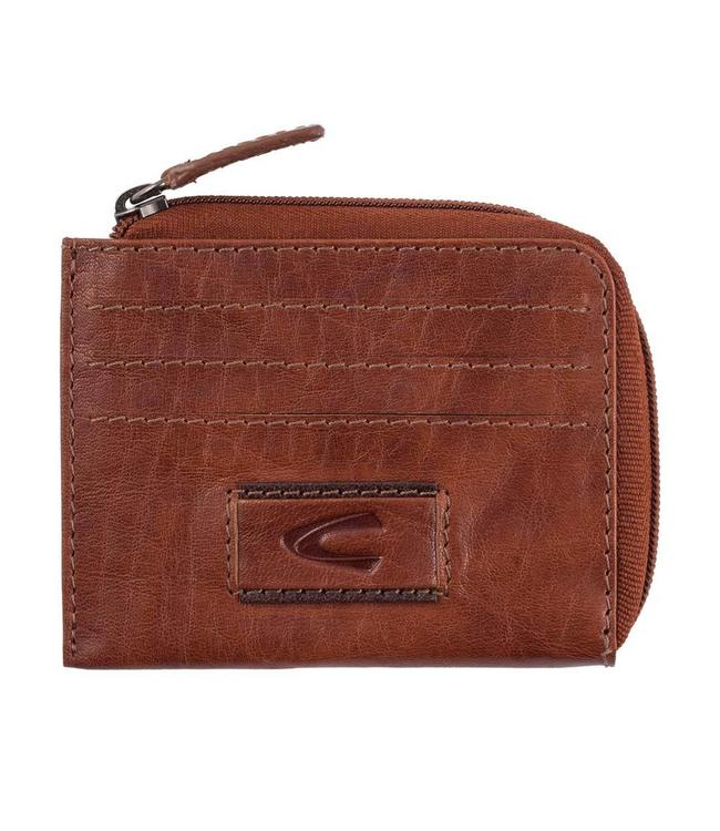 Camel Active 706 Panama card case cognac