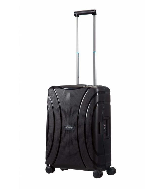 American Tourister Lock'n'roll spinner 55 Jet black