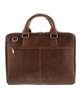 "Plevier Urban 485 17.3"" business tas cognac"