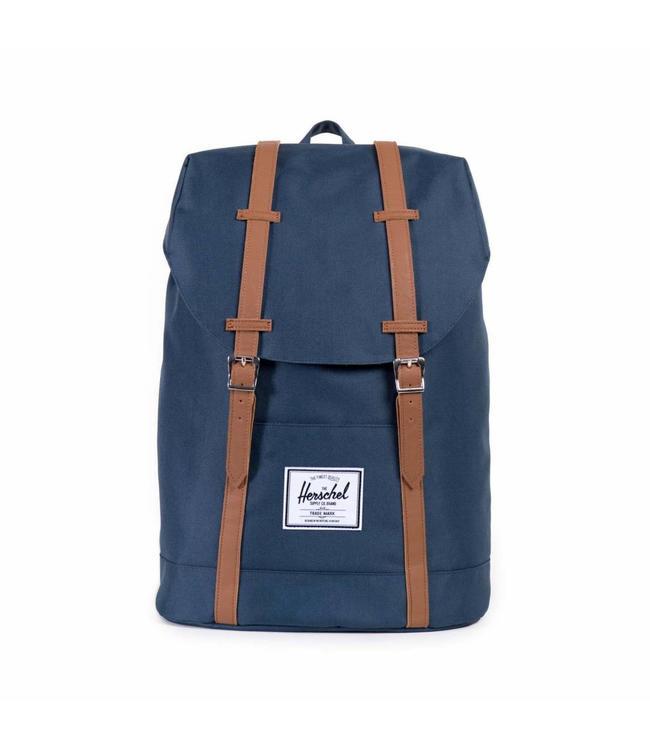 nieuwe stijl fabriek authentiek brede selectie Retreat navy - Blauwe rugzak met laptopvak