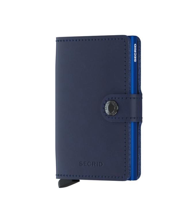 Secrid Miniwallet Original navy blue-pasjeshouder RFID beschermd